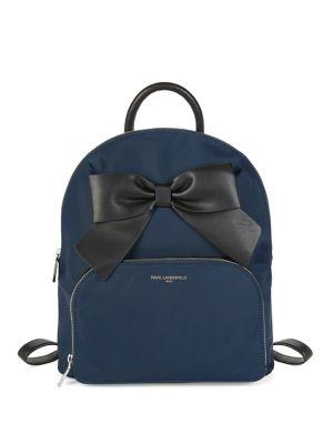 Kris Nylon Bow Backpack...