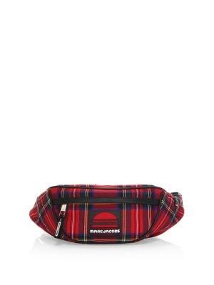 Wool Sport Tartan Belt Bag 500088420296