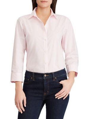 Cotton Button-Down Shirt 500088422796