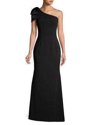 Bow Floor-Length Gown 500088425057