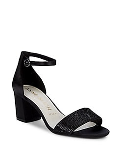 6a3c09fcd755 Cordelia Ankle Strap Sandals BLACK. QUICK VIEW. Product image. QUICK VIEW. Anne  Klein