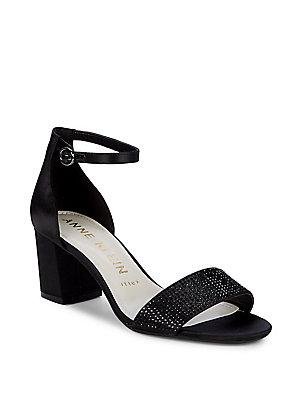 6cd16689b0b Anne Klein - Cordelia Ankle Strap Sandals - lordandtaylor.com
