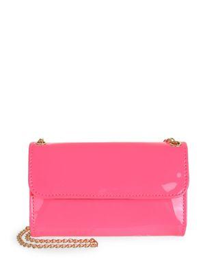 Girls Patent Crossbody Wallet