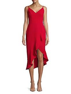 fb818e2b QUICK VIEW. Xscape. Sleeveless Ruffled Cocktail Dress