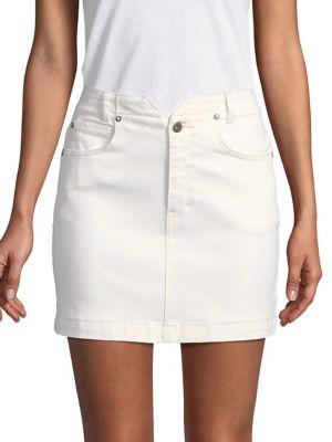 Denim Mini Skirt 500088445078