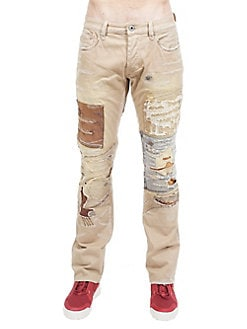 ae1eacfb Product image. QUICK VIEW. Cult Of Individuality. Rebel Distressed Cotton Straight  Jeans