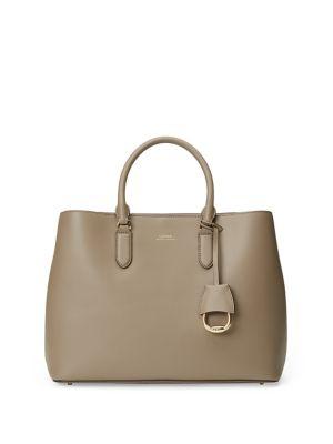 Leather Marcy Satchel...