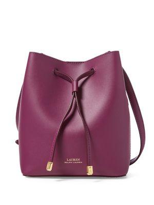 Debby II Mini Leather Drawstring Bag 500088453383