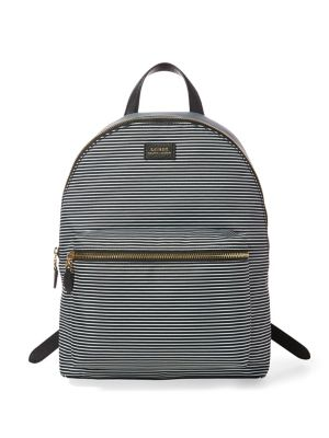Striped Canvas Backpack...