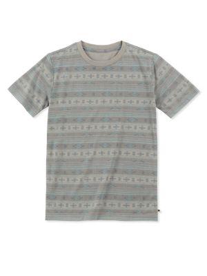 Boy's Printed Short-Sleeve...