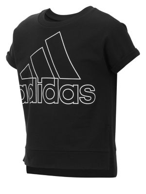 Girl's Short-Sleeve Cropped...