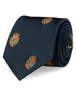 Crest Silk Club Tie @...