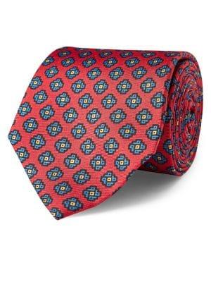 Diamond Silk Neat Tie...