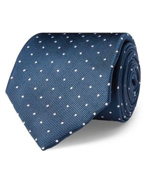 Silk Pin Dot Tie @...