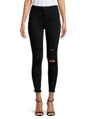 Bridgette Distressed Skinny Jeans 500088461037
