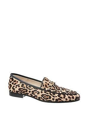 2d1b7b121c0 Sam Edelman - Lorraine Leopard Print Calf Hair Loafers - lordandtaylor.com