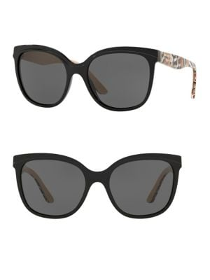 BE4270 55MM Butterfly Sunglasses 500088465330