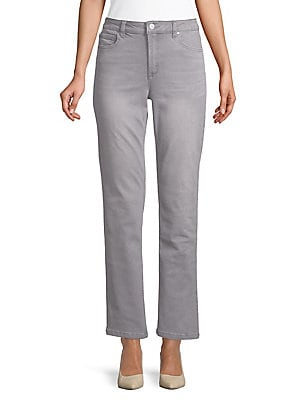 063c6e90e6f7b JONES NEW YORK - Lexington Straight-Leg Jeans - lordandtaylor.com