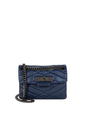 Quilted Leather Crossbody...