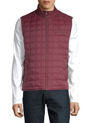 Box Quilted Vest @...