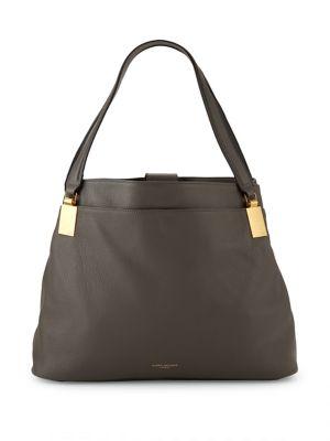 Emma Leather Hobo Bag...