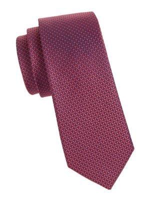 Silk Textured Tie @...