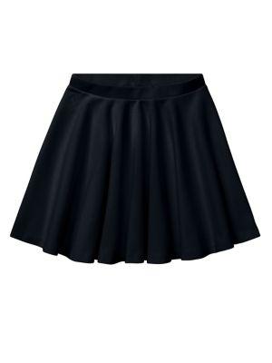 Girl's Ponte Skirt @...