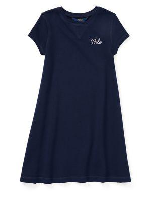 Girl's A-Line Dress @...