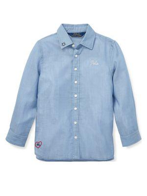 Little Girls Shirt Tunic