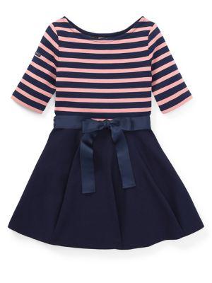 Little Girl's Stripe...
