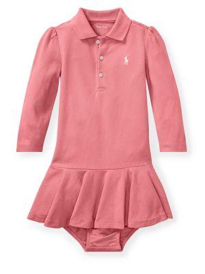 Baby Girl's Cotton Polo...