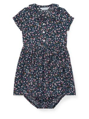 Baby Girl's Floral Dress...
