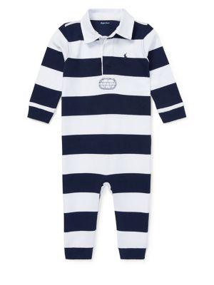 Baby Boy's Rugby Stripe...
