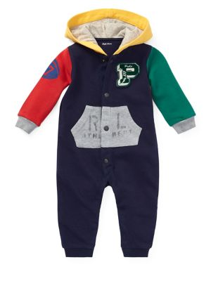 Baby Boy's Hooded Coverall...