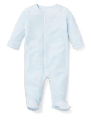 Baby Boy's Velour Footie...