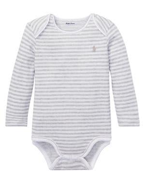 Baby's Stripe Bodysuit...