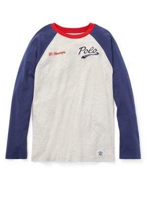 Boy's Baseball Cotton...