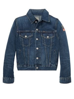 Boys Trucker Denim Jacket