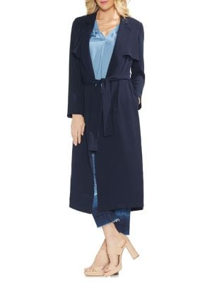 Sapphire Bloom Trench...