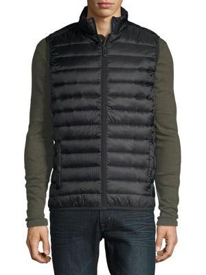 Quilted Full-Zip Vest...