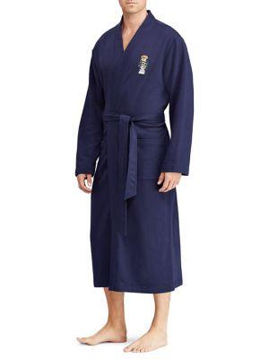 Polo Bear Fleece Kimono...