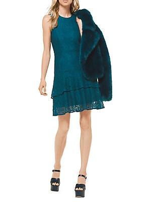 83db849490 MICHAEL Michael Kors - Floral Lace Double Flounce