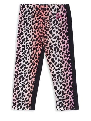 Girl's Two-Pack Leopard-Print...