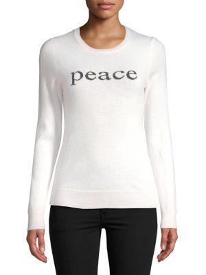 Peace Cashmere Sweater...