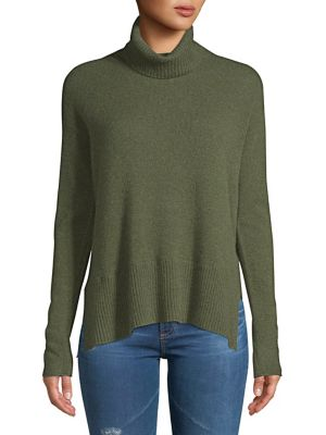Boxy Ribbed Cashmere...