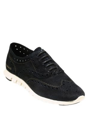 ZeroGrand Suede Oxford Sneakers by Cole Haan