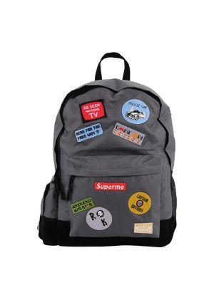 Boy's Patchwork Backpack...