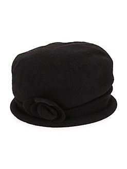 69a32c3365f Spencer Cloche Hat BLACK. Product image