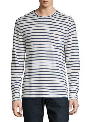 Long Sleeve Striped Tee...