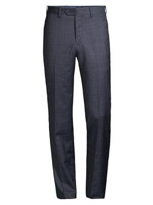 Windowpane Wool Suit...